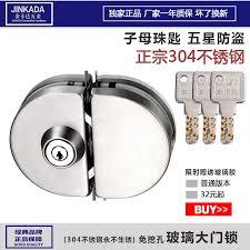 get ations jin kada 304 stainless steel single door double door glass door sliding door glass sliding door
