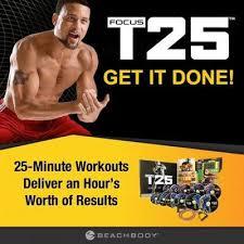 shaun t s focus t25 workout dvd