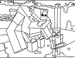 Small Picture Minecraft colouring minecraft coloring pages free download