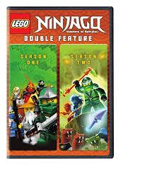 Amazon.com: LEGO Ninjago: Masters of Spinjitzu Seasons 1-2 Double Feature  (DVD): Various, Various: Movies & TV
