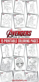 Free Avengers Coloring Pages Click Here To Print The Avengers Age Of