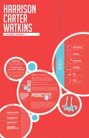 Super creative circle concept!! Love this look. Creative Resume ...