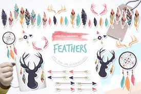 Designs can be used with programs that are compatible with svg files. Feathers Graphic By Prettygrafik Creative Fabrica In 2020 Feather Graphic Graphic Graphic Illustration