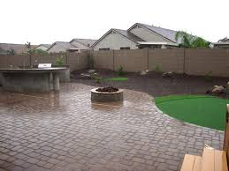 Desert Backyard Designs Best Arizona Backyard Landscape Design After For The Home In 48