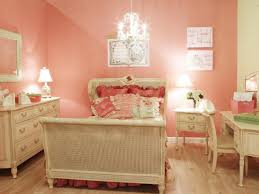 Pink and Purple Girl's Bedroom