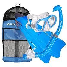 Us Divers Junior Snorkel Set Size Chart Us Divers Toucan Pc Eco Breaker Kids Mask Fin Snorkel Set