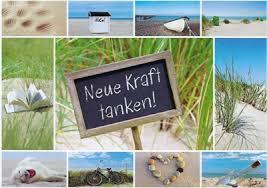 Hartung Edition Neue Kraft Tanken Collage Postkarte