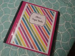 Custom Binder Cover Project Binder Cover Rainbow Allaboutthehouse Printables