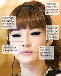 cara make up ala korea eyeliner ala personel 2ne1 tutorial