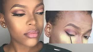 neutral wedding makeup tutorial for