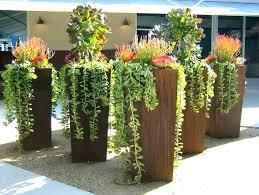 extra large plant pots outdoor plant pots modern tall outdoor planters planters home depot large planter