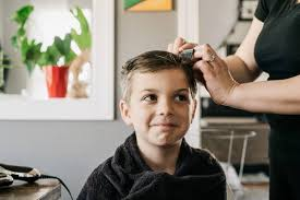 how to cut kids hair at home easy