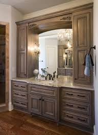 bathroom cabinets ideas. And White Bowl Sink Also Large Beautiful Mirror With Birch Wood Frame For Old Women Bathroom,Magnificent Bathroom Vanities Denver Classy Design Cabinets Ideas O