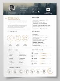 Resume Template Indesign Clean Resume Word Indesign Formats The