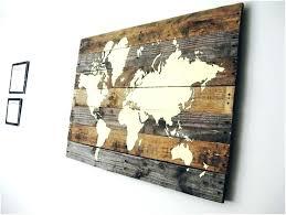 world map wall art world map wood wall art rustic wooden wall decor unusual ideas design