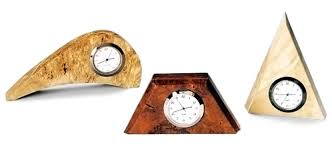 small desk clocks various species and sizes available for