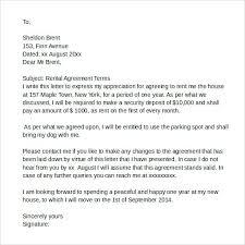 Rent Agreement Letter – Eukutak