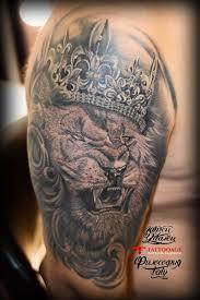 лев в короне тату салон юрец удалец философия тату
