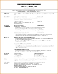 Grad School Resume Template Best of Basic Graduate School Resume Sample Customize Resume Template