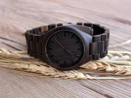 personalized wooden watch end anniversary gift for men birthday gift for husband valetines day gift for boyfriend gift
