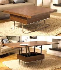 This Convertible Coffee Table is a great space saver. Instead of two  separate items of