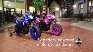 <b>Ride</b> On <b>Battery</b>-<b>Powered Motorcycle</b> for Kids by Huffy - YouTube