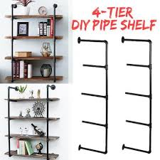 black pipe shelf at affordable