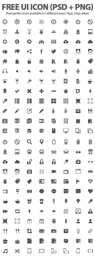 Web Design Icon Psd 500 Free Ui Icons Psd Png Icons Graphic Design Junction
