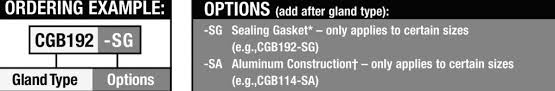 Cgb Connector Size Chart Cable Glands And Cable Accessories Hazardous And Non