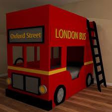 London Bedroom Furniture Childrens London Bus Bed Bunk Beds Childrens Furniture