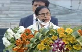 West Bengal CM Mamata Banerjee refuses to speak in Netaji Subhash Chandra  Bose Birth Anniversary Event after Jai Sri Ram Slogans raised in front of  PM Modi: मंच पर ममता बनर्जी को