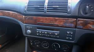 bmw e39 5 series how to remove radio