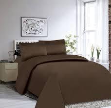 dark chocolate bedding set
