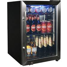 dellware tropical triple glazed glass door drinks beer chiller refrigerator model dw sc66