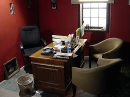 red black home office. Tiny Office Space. Ideas Small Ikea Space Red Black Home A