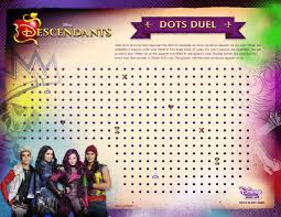 Disney Descendants Activity Sheets Food Crafts And Family