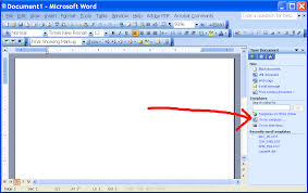 How To A Resume Template On Microsoft Word 2003 Templates Best