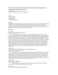 Manufacturing Resume Objective Resume Objective For Manufacturing Shalomhouseus 1