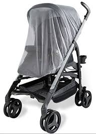 UPPABABY VISTA BABY Stroller Mosquito Insects Net Mesh White Shield ...