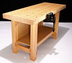 Finished Ash SplitTop Roubo Workbench  The Year Of MudRoubo Woodworking Bench