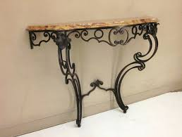 iron console table. Models Wrought Iron Console Tables Table E
