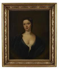 Portrait of Isabella Blair in a blue dress by James Fellowes on artnet