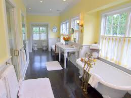 Pictures Of Yellow Bathrooms Light Yellow And Grey Bathroom