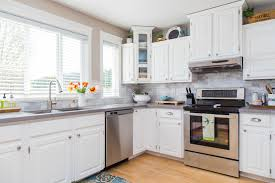 Inside Of Kitchen Cabinets Kitchen With White Cabinets For The House Stirkitchenstorecom