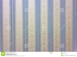 Blauw Gestreept Behang Stock Illustratie Illustratie Bestaande Uit