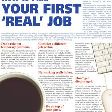 jobs rrdailyherald com how to your first real job