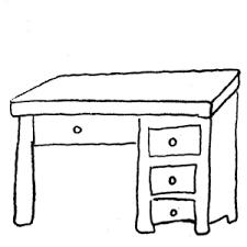 student desk clipart black and white. desk student clipart black and white k