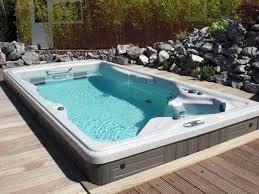 large swim spa. Beautiful Spa Swim Spa With Wraparound Deck Intended Large I