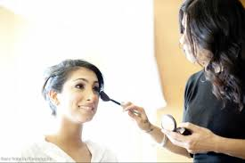 bridal makeup and hair styling service in houston