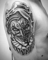 50 Jester Tattoo Vzory Pro Muže Entertainer Ink Myšlenky